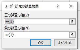 ユーザー設定の誤差範囲